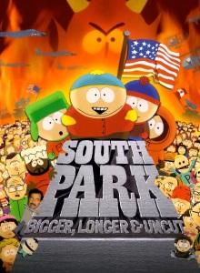 Южный парк: Большой, длинный, необрезанный обложка