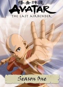 Аватар: Легенда об Аанге 1 сезон обложка