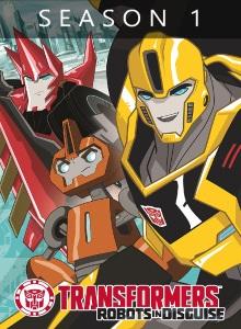 Трансформеры: Роботы под прикрытием 1 сезон