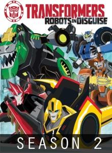 Трансформеры: Роботы под прикрытием 2 сезон