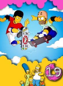 Симпсоны 19 сезон обложка