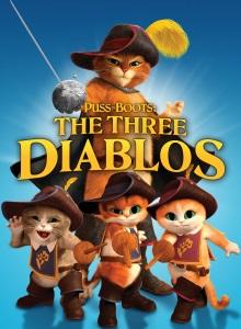 Кот в сапогах: Три Чертёнка обложка