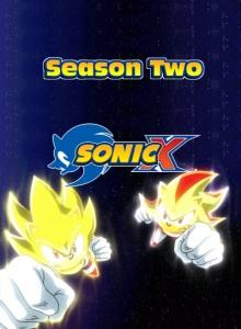 Соник Икс 2 сезон обложка
