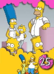 Симпсоны 25 сезон обложка